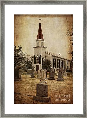 St. Mary Of Sorrows I Framed Print by Terry Rowe