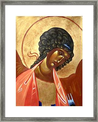 St. Michael Framed Print by Joseph Malham