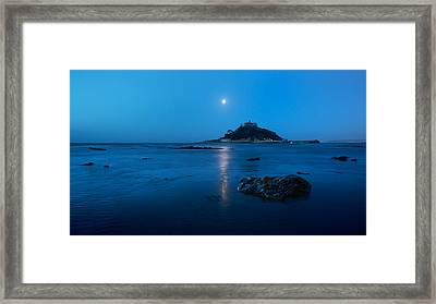 St. Michael's Mount Framed Print by Francesco Emanuele Carucci