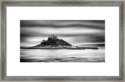 St Michaels Mount Framed Print by John Farnan