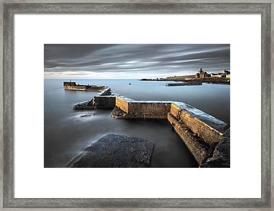 St Monans Dawn Framed Print by Dave Bowman