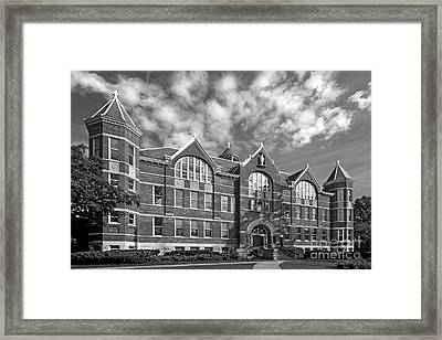 St. Norbert College Main Hall Framed Print by University Icons