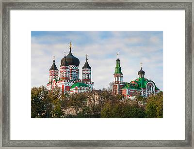 St. Panteleimons Cathedral Kiev Framed Print by Matt Create