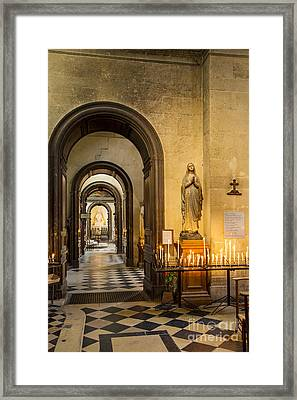 St. Paul - St. Louis Cathedral Framed Print by Brian Jannsen