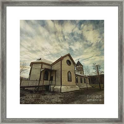 St. Pauls Anglican Church Framed Print by Priska Wettstein