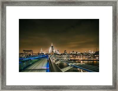St Pauls Cathedral London Framed Print by Ian Hufton