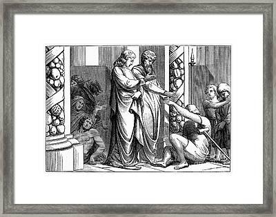 St. Peter And St. John Framed Print by Granger