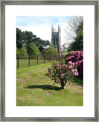 St Peter's Church - Stapenhill Framed Print by Rod Johnson