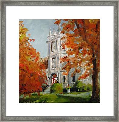 St Peters Episcopal Church Framed Print by Susan E Jones