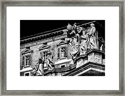 St. Peters Watchers Framed Print by John Rizzuto