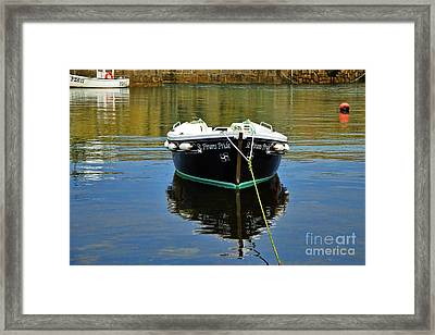 St Pirans Pride In Mousehole Harbour Framed Print by Susie Peek