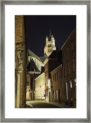 St Saviour Cathedral  Framed Print by Adam Romanowicz