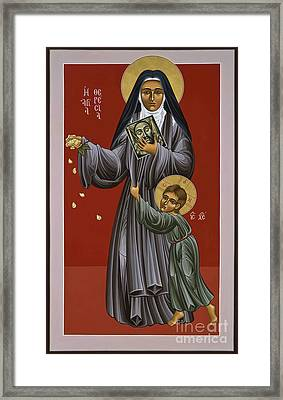 St. Therese Of Lisieux Doctor Of The Church 043 Framed Print by William Hart McNichols