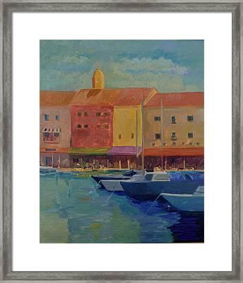 St. Tropez Framed Print by Rhonda Brooks