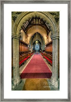 St Twrog Church Framed Print by Adrian Evans