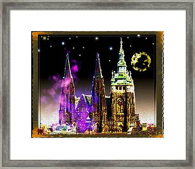 St. Vitus Cathedral Prague Framed Print by Daniel Janda