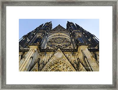 St Vitus Church In Hradcany Prague Framed Print by Jelena Jovanovic
