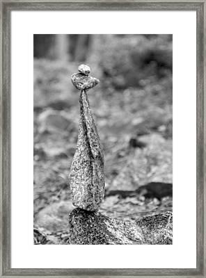 Stacked 44 Framed Print by MyRockn Art