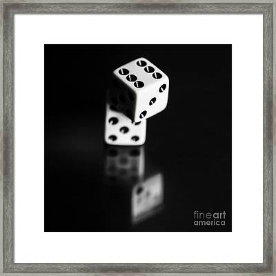 Stacked Up Odds Of Probability And Loss Framed Print by Jorgo Photography - Wall Art Gallery