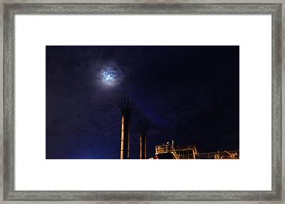 Stacked Framed Print by Wild Thing