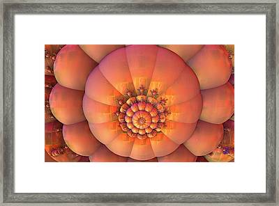 Stacks Framed Print by Ricky Jarnagin