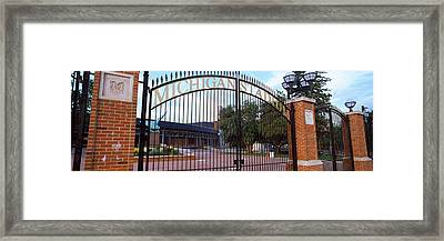 Stadium Of A University, Michigan Framed Print by Panoramic Images