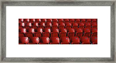 Stadium Seats Framed Print by Panoramic Images