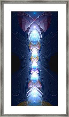 Staff Of Light Framed Print by Anastasiya Malakhova