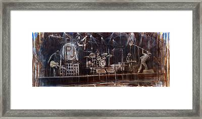 Stage Framed Print by Josh Hertzenberg