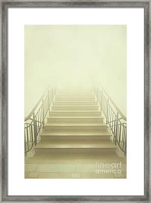 Stairway To Heaven Framed Print by Evelina Kremsdorf