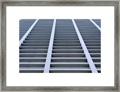 Stairway To Heaven In Houston Framed Print by Christine Till