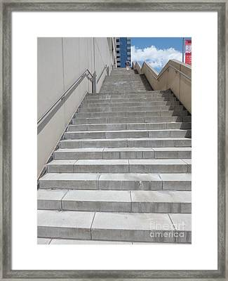 Stairway To Heaven Framed Print by James Dolan