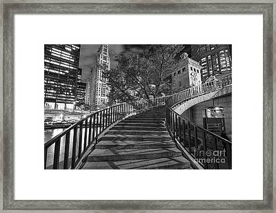 Stairway To Heaven Framed Print by Jeff Lewis