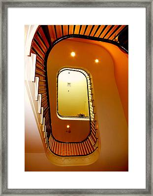Stairway To Heaven Framed Print by Karen Wiles