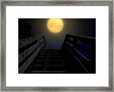 Stairway To Heaven Framed Print by Laura Ragland