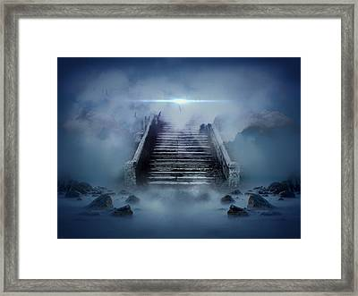 Stairway To Heaven Framed Print by Mountain Dreams