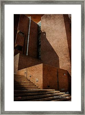 Stairway To Nowhere Framed Print by Lois Bryan