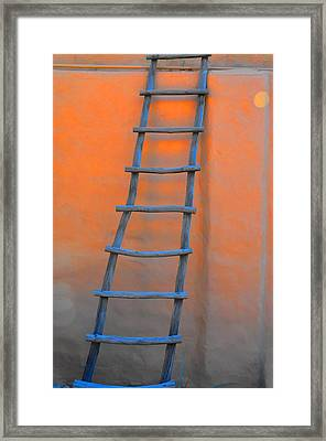 Stairway To The Moon Framed Print by Jan Amiss Photography