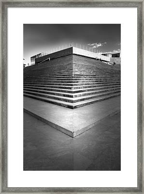Stairways To Heaven Framed Print by Guido Montanes Castillo