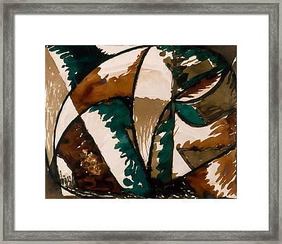 Stalking Bear Framed Print by Kristian Roald