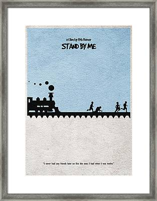 Stand By Me Framed Print by Ayse Deniz
