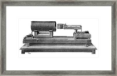 Standard Ampere Framed Print by Science Photo Library