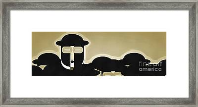 Standing Out Framed Print by Edward Fielding
