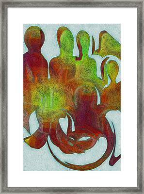 Standing Ovation 2 Framed Print by Jack Zulli