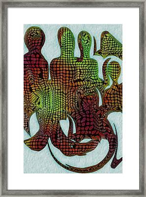 Standing Ovation 3 Framed Print by Jack Zulli