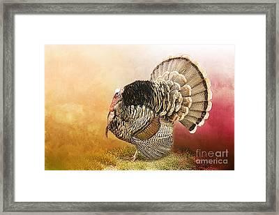 Standing Proud Framed Print by Betty LaRue