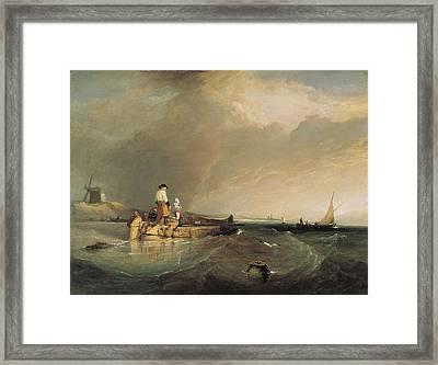 Stanfield, Clarkson 1793-1867. On Framed Print by Everett
