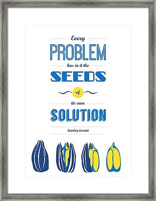 Stanley Arnold Typography Wall Decor Quote Framed Print by Lab No 4 - The Quotography Department