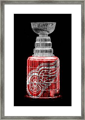 Stanley Cup 5 Framed Print by Andrew Fare