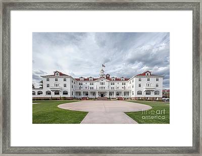 Stanley Hotel Estes Park Framed Print by Kay Pickens